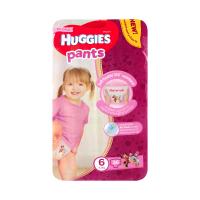 Підгузники-трусики Huggies для дівчаток 6 15-25кг 36шт.