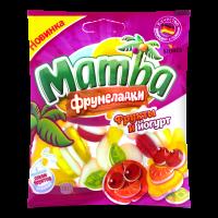 Мармелад жувальний Mamba Фрумеладки Фрукти і йогурт 72г х14