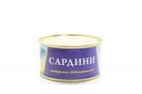 Сардини Fish Line натуральні з дод.олії 240г х48