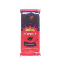 Шоколад Корона екстрачорний 90г х20
