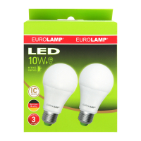 Лампа Eurolamp LED А6 10W E27 2шт. x10