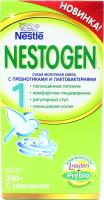 Суміш Nestle Nestogen 1 молочна із пребиотиками 350г х12