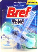Засіб Bref для унітаза Blue aktiv Евкаліпт 50г