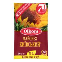 Майонез Олком Київський 72% 200г