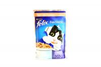 Корм Felix Fantastic з лососем для котів 100г х60