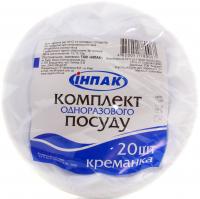 Креманки одноразові Инпак Party 20шт х6