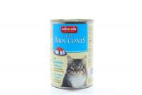 Корм Brocconis сайда та курка для котів 400г х6.