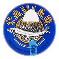 Ікра чорна Caviar осетра сибірського ж/б 100г х6
