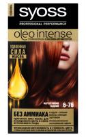 Крем-фарба Syoss Oleo Intense 6-76 мерехтливий мідний