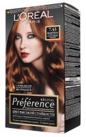 Фарба для волосся L`Oreal Recital Preference 7.43