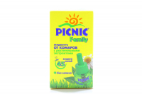 Засіб від комарів Picnic Family рідина 30мл х6