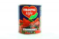 Полуниця Tropic life у сиропі 850мл x24
