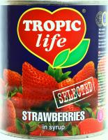 Полуниця Tropic life у сиропі 850мл