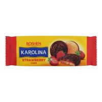 Печиво Roshen Karolina зі смаком полуниці 135г х12