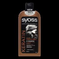 Шампунь для ослабленого та ламкого волосся Syoss Keratin, 500 мл