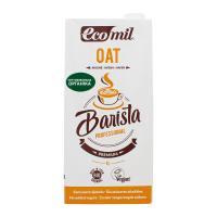 Молоко рослинне EcoMil органічне з вівса 1л х6