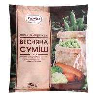 Суміш овочева Лімо Весняна с/м 400г х20