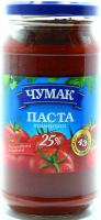 Паста томатна Чумак 25% 450г ск/б