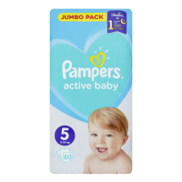 Підгузники Pampers Active Baby 11-16кг 60шт.