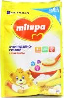 Каша Milupa Nutricia молочна з бананом 210г х9
