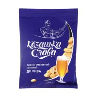 Арахіс Козацька слава смажений солоний до пива 180г х50