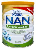 Суміш Nestle NAN Потрійний комфорт ж/б 800г х4