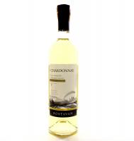 Вино Bostavan Chardonnay напівсолодке біле 0,75л х6