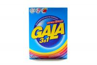 Пральний порошок для кольорових тканин Gala 3в1 Яскраві кольори, 400 г