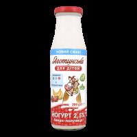 Йогурт Яготинське для дітей Банан-полуниця 2,5% 200г х9