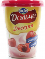 Десерт Lactel Дольче вишня 3,4% 400г х8