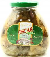 Гриби Oskar асорті грибне мариноване 530мл
