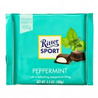 Шоколад Ritter Sport темний крем-м`ята 100г