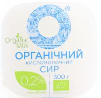 Сир Organic Milk Органічний кисломолочний 0,2% 300г