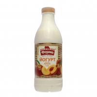Йогурт Ферма 1,5% персик пет 900г