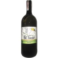 Винo El Tucan semi-sweet біле напівсолодке 1,5л