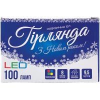 Електрогірлянда LED 100ламп 9,5м NYA170019