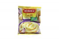 Пюре Мивина картопляне лук і сухарики пакет 37гр х30