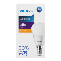 Лампа Philips світлодіодна LED 6W Е14 х6
