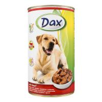 Консерва для собак DAX з яловичиною ж/б 1240г