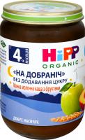 Каша Hipp Organic манна з фруктами На добраніч с/б 190г х6