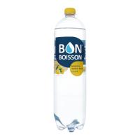 Вода Бон Буассон мінеральна Лимон пет 1,5л х6