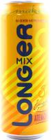 Напій Longer mix Апельсин 7% з/б 0,5л х6