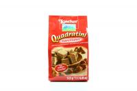 Вафлі Loacker Quadrdtini горіхова начинка 125г х12