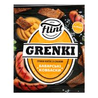 Сухарики Flint Грінки житні Баварські ковбаски 70г х60