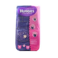 Підгузники-трусики Huggies для дівчаток 4 9-14кг 52шт х6