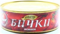 Бички Екватор обсмажені у томатному соусі 240г
