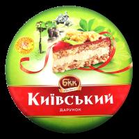 Торт БКК Київський дарунок з арахісом 850г х6