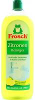 """Концентрат універсальний чистячий для кухні/ванної кімнати Frosch """"Лимон"""", 750 мл"""
