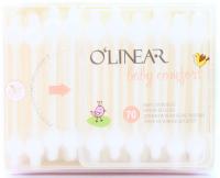 Палички O`Linear ватні дитячі 70шт х6