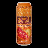 Пиво Essa світле ананас-грейпфрут ж/б 0,5л